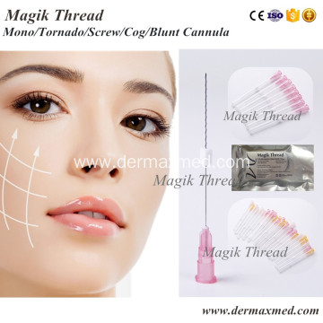Medical Face Threading Before and After